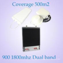 Hot Sale Outdoor Dual Band 900 / 1800MHz WiFi WiFi Répéteur Réseaux 2g 3G Téléphone mobile Répéteur de signal / amplificateur de rappel