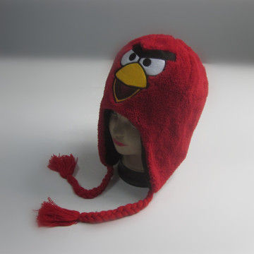 Custom Kids Crazy Bird Winter Hat