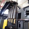 Taladro CNC de tres husillos para vigas