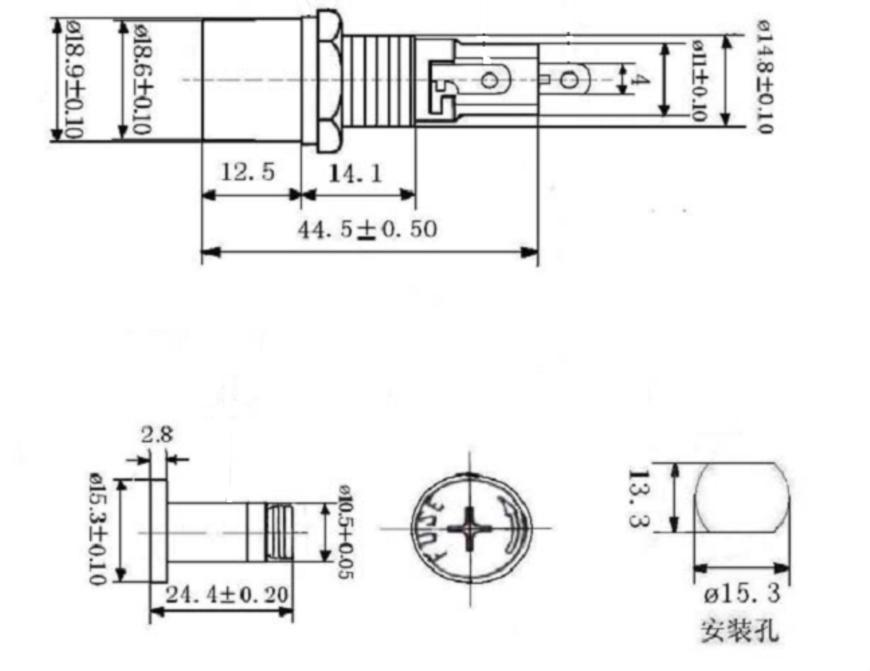 5X20 mm fuse holder