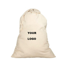 stylish strong large hotel home heavy duty laundry bag canvas cotton drawstring laundry bags with logo