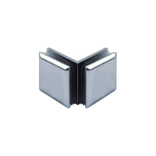 Square Stainless Steel Clamps for Glass Door
