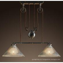 Lámparas colgantes suspendidas europeas de la alta calidad (DL20417-2BBZ)