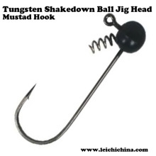 High Quality Tungsten Shakedown Ball Jig Head