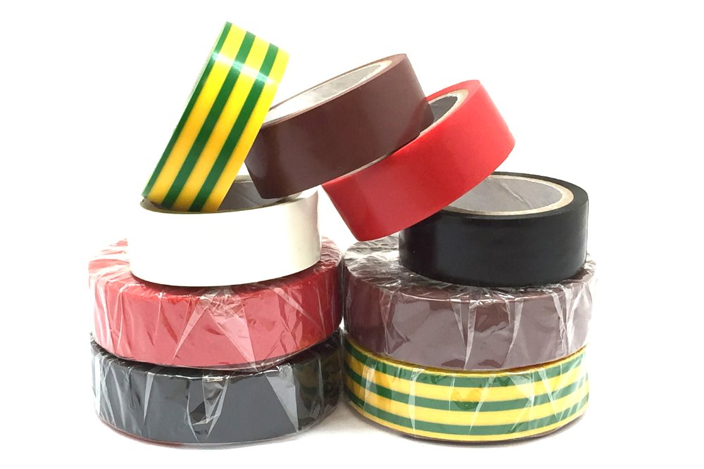 white insulation tape