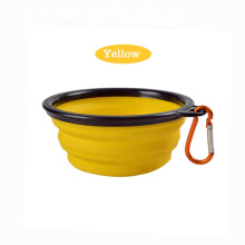 Antiskid Tilting Style Shape Pet Bowl Transparent Cat Feeder Pet Food Dish Water Bowl for Dogs Cats