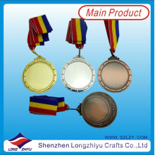 Medallas de metal en blanco Medallas personalizadas Diseñe con su propio logotipo