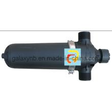 Filtro de disco trasero automático para irrigación