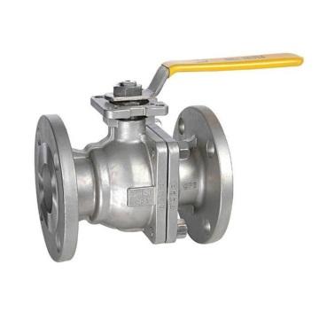 Válvula esférica de flange 2PC flutuante de aço inoxidável API