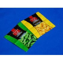 Flat Flexible Zipper Packaging Pouch For Food Foil Plastic
