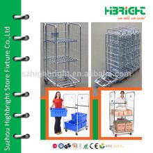 Hand-Push-Logistikwagenwagen Handlagerwagen