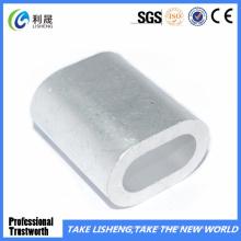 Nova manga oval em alumínio DIN3093
