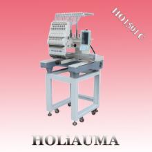 Máquina de bordado de alta velocidad de la computadora de la cabeza sola de HOLAUMA con 15 colores