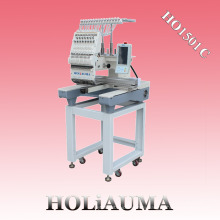HOLAUMA Single Head High Speed Computer Operation Embroidery Machine With 15 Colors