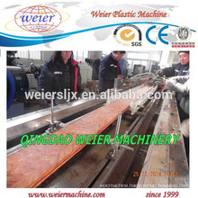 WPC PVC outdoor decking series profile machine