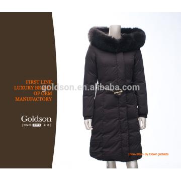 Fur Winter Jacket Russian Down Jacket Big Fur 2017 Luxurious Style