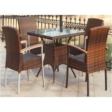 Cadeiras de mesa de rattan ao ar livre para venda