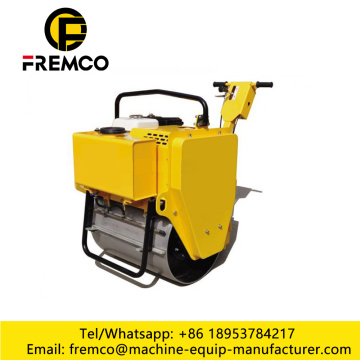 Wall Behind Road Roller Compactor