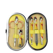6items Conjunto de herramientas de manicura traje de uñas cortadas Cuidado de uñas Cortaúñas de acero inoxidable