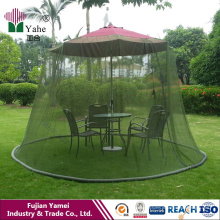 Canopy Pation Set Screen House Mesa de guarda-chuva Mosquito Net