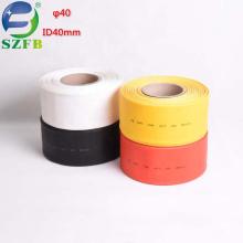 Feibo free samples polyethylene PE insulation protection ID 40mm 1kv heat shrink tubing