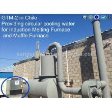 Machine de traitement de l'eau de haute qualité humide de GTM-2 de circuit fermé de 10 tonnes à contre-courant de Superdyma