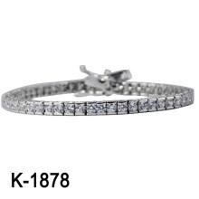 Novo Estilo 925 Prata Pulseira Jóias Moda (K-1878. JPG)