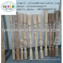 wood stair pillar factory
