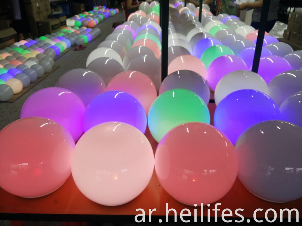 Flash Colors LED ball light