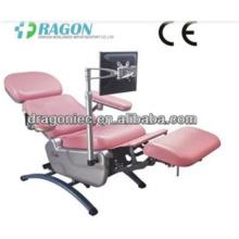 DW-BC006 sang collection chaise médicale réglable sang chaises d'urgence électrique sang don chaise