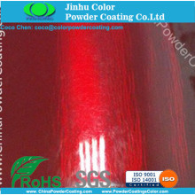 Electrostatic spray Polyurethane Clear Topcoat Powder Paint