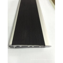 Black or Yellow PVC Inserted Safe Stair Nosing for Stair Step