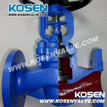 DIN 3356 Bellows Seal Globe Valves (WJ41H)