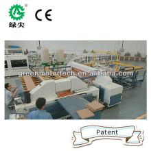 Paneles CNC de corte cruzado de sierra