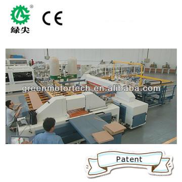 Scie à panneaux à coupe transversale CNC brevetée