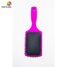 Velvet Touch Paddle Brush Detangling Brush para alisar y alisar el cabello para cabello húmedo y seco