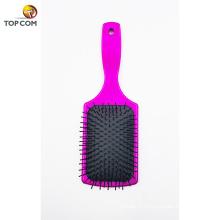 Velvet Touch Paddle Brush Brosse démêlante pour le lissage et le lissage des cheveux pour cheveux mouillés et cheveux secs