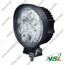 Luz de trabajo LED EMC de 27 W y 4 pulgadas Luz de trabajo LED de inundación y foco de 10-30 V