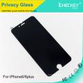 Protector de pantalla de vidrio de privacidad 2.5D anti-peeping para iPhone6 / 6 plus