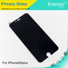 Peeping 2.5D Privacy Glas Displayschutzfolie für iPhone6 ​​/ 6 plus