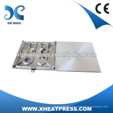 38x38cm Movable Electic Casting Aluminium Heizplatte für Hitzepresse Maschine