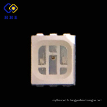 Nouveau plcc 6 pleine couleur nonpolarité smd 3528 rgb a conduit spécifications de la fiche technique pour écran led
