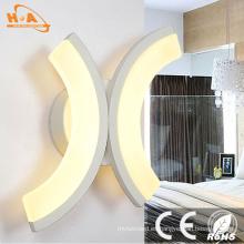 Luz de lujo barata decorativa de la pared de la luz LED caliente barata popular