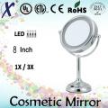8′′ batterie miroir cosmétique