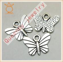 Manufacturer Direct Wholesale jewelry die cast zinc alloy butterfly Pendant