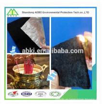 Fieltro de fibra de carbono de alta temperatura retardante de llama 100% ignífugo
