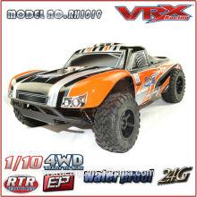 2.4 G 2CH de 1/10 Nitro de alta velocidade modelo RC carro de corrida
