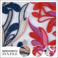 Diseño personalizado al por mayor suave bordado de poliéster grueso tejido de punto de estiramiento