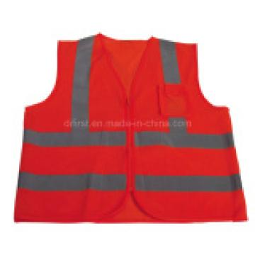 Wholesale High Visibility Reflective Vest Safety Vest Meet CE En471 Class 2