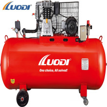 submit site to drill China 500l belt driven silent Italy type air compressor for sale